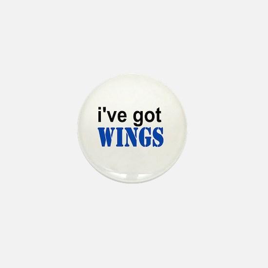 I've got Wings Mini Button