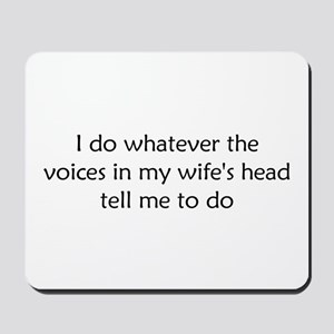 I do Mousepad