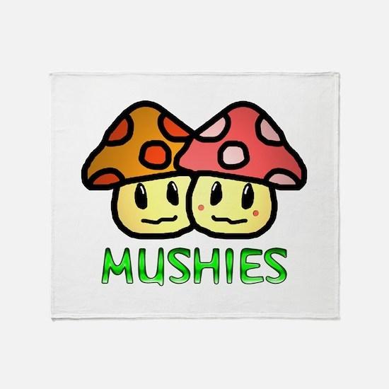 Mushies Throw Blanket