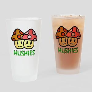 Mushies Drinking Glass