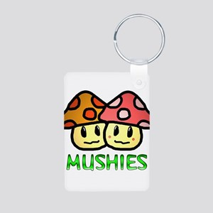 Mushies Aluminum Photo Keychain