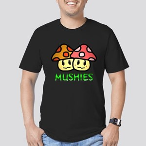 Mushies Men's Fitted T-Shirt (dark)