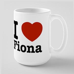 I love Fiona Large Mug