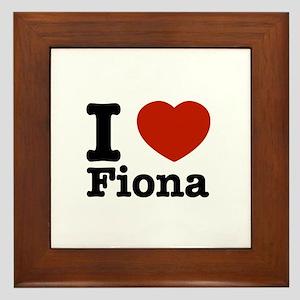 I love Fiona Framed Tile