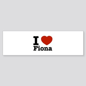 I love Fiona Sticker (Bumper)