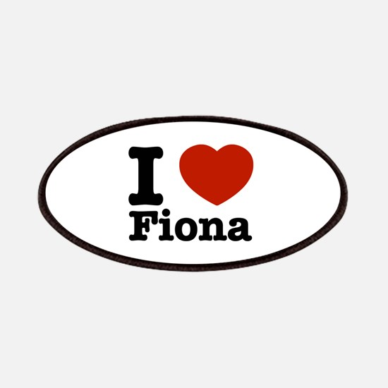 I love Fiona Patches