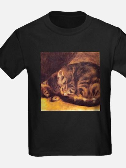 Renoir's Sleeping Cat T
