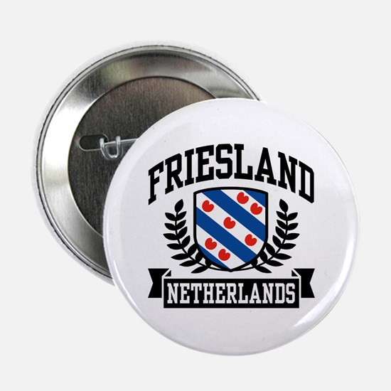 "Friesland Netherlands 2.25"" Button"