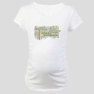 Building Babies Maternity T-Shirt