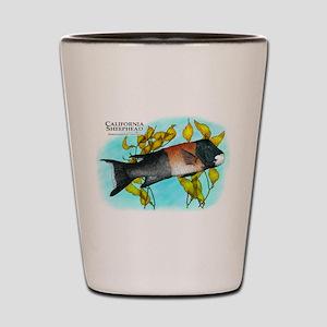 California Sheephead Shot Glass