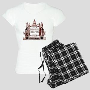 Antique Tea Ad Women's Light Pajamas