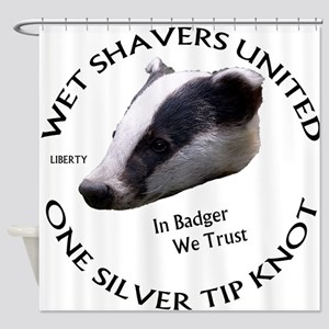 Wet Shavers United Shower Curtain
