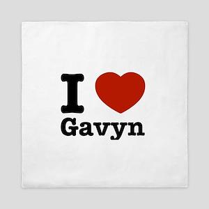 I love Gavyn Queen Duvet