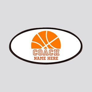 Basketball Coach Name Patch