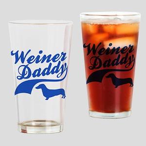 Weiner Daddy Drinking Glass