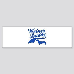 Weiner Daddy Sticker (Bumper)