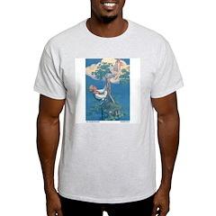 Curtis's Jack & Beanstalk Ash Grey T-Shirt