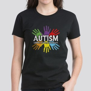 Autism Women's Dark T-Shirt
