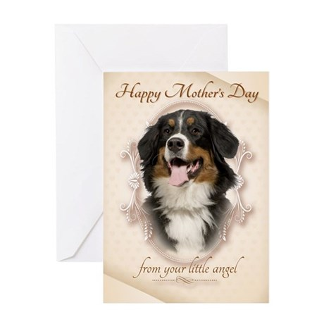 Funny Berner Mother's Day Card