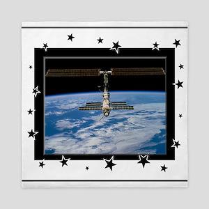 Space Station Queen Duvet