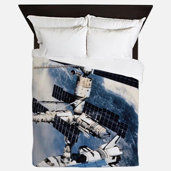 International Space Station Queen Duvet