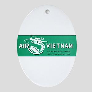 Air Vietnam Ornament (Oval)