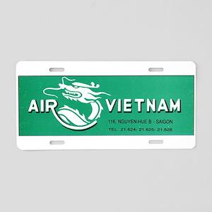 Air Vietnam Aluminum License Plate