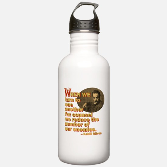 Turn To One Another Water Bottle