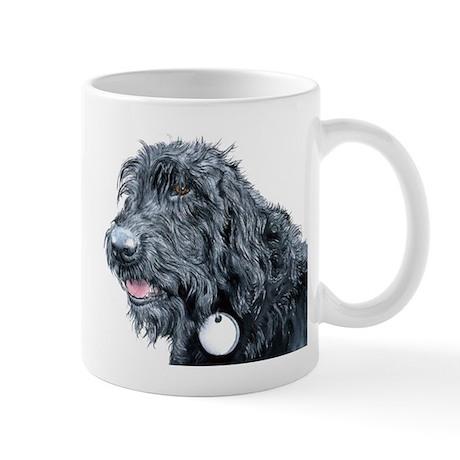 Black Labradoodle #3 Mug