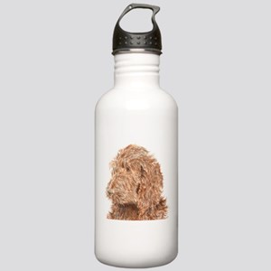 Chocolate Labradoodle 5 Stainless Water Bottle 1.0