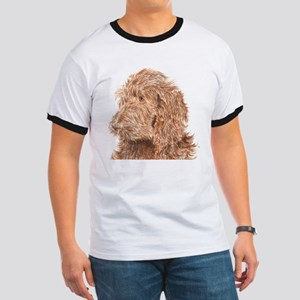 Chocolate Labradoodle 5 Ringer T