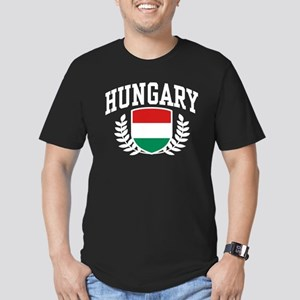 Hungary Men's Fitted T-Shirt (dark)