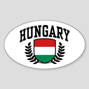 Hungary Sticker (Oval)