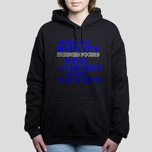 Walking With My Standard Women's Hooded Sweatshirt