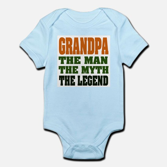 Grandpa The Legend Body Suit