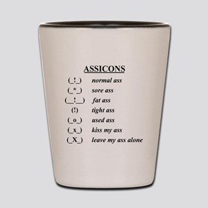 assicons Shot Glass