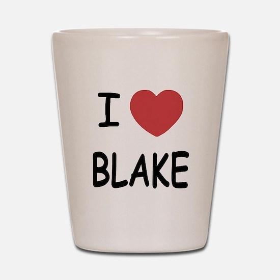 I heart blake Shot Glass