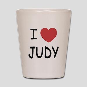 I heart Judy Shot Glass