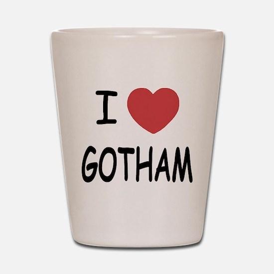 I heart Gotham Shot Glass