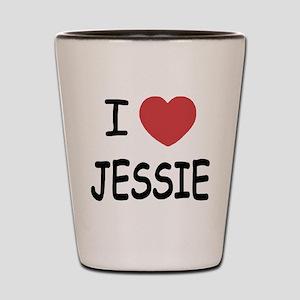 I heart Jessie Shot Glass