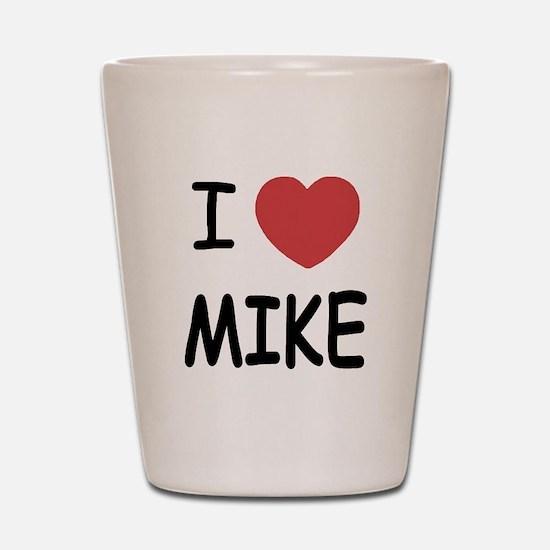 I heart Mike Shot Glass