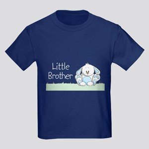 Bunny Little Brother Kids Dark T-Shirt