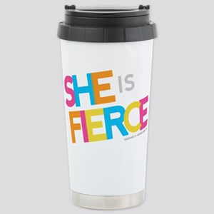 She is Fierce - Color Merge Stainless Steel Travel