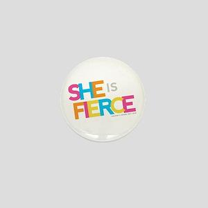 She is Fierce - Color Merge Mini Button