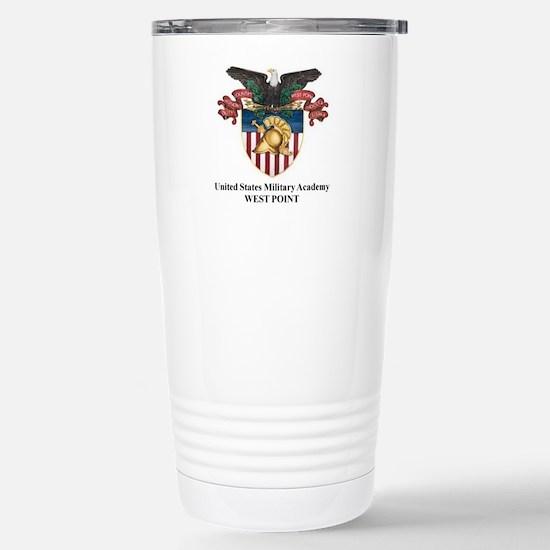 Stainless Steel Travel Mug USMA Crest