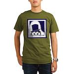 Piano Guy Organic Men's T-Shirt (dark)