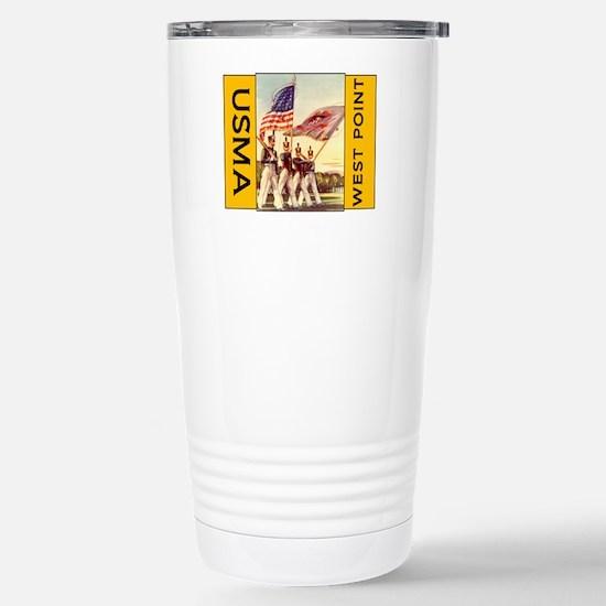 Stainless Steel Travel Mug USMA Colors
