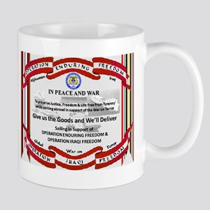 OPERATIONS IRAQI & ENDURING FREEDOM Mug