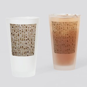 Matzo Mart Drinking Glass / Elijah's Cup
