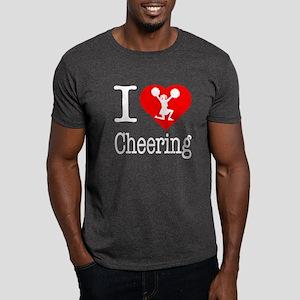I Love Cheering Dark T-Shirt